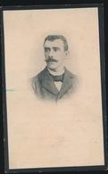 OCTAAF GOEMINNE - DEINZE 1867 - PETEGEM BIJ DEINZE 1907    2 SCANS - Overlijden