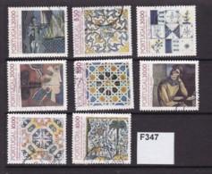 Portugal 1980-89 Tiles. 8 Values To 20E - 1910-... Republiek