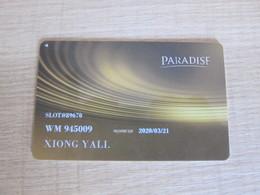 Paradise Card - Casino Cards