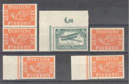 Reich  Michel #  111 - 112 Gepruft - Deutschland