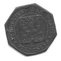 *notgeld Pirmasens 10 Pfennig 1917   Zn 426.4c - [ 2] 1871-1918 : Empire Allemand