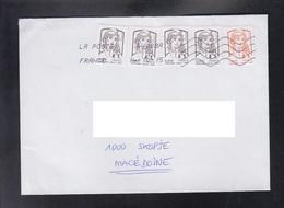FRANCE, COVER / REPUBLIC OF MACEDONIA ** - 2013-... Marianne Van Ciappa-Kawena