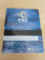 City Club By Melco Crown Macao - Casino Cards
