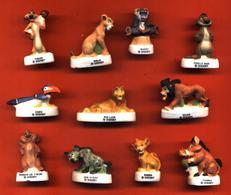Série Complete De 11 Feves Mats Le Roi Lion - Disney