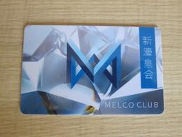 Melco Club, Macao - Casino Cards