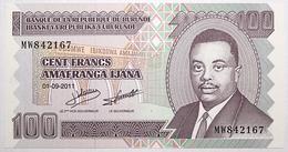 Burundi - 100 Francs - 2011 - PICK 44b - NEUF - Burundi