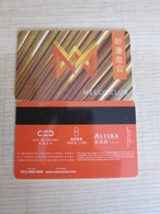 Melco Club, Macao(with Some Scratch) - Casino Cards