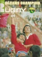 Miroir Du Rugby 153 Avril-mai 1974 Demies Et Finale Du Championnat De France  Béziers Champion Comme Neuf - Sport
