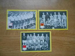 Chromos Maple Leaf   Voetbalploegen  Nationaal Elftal Denemarken, West-Duitsland En Holland - Trading Cards