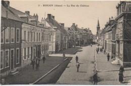 02 BOHAIN  La Rue Du Château - Francia