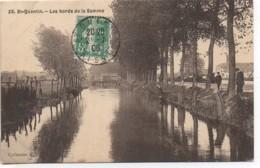 02  SAINT-QUENTIN   Les Bords De La Somme - Saint Quentin