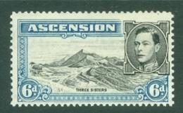 Ascension: 1938/53   KGVI    SG43b    6d   [Perf: 13]  MH - Ascension