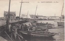 SAINT-GUENOLE: Le Port - Penmarch