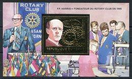 RC 14640 TCHAD ROTARY CLUB BLOC FEUILLET NEUF ** MNH TB - Tschad (1960-...)