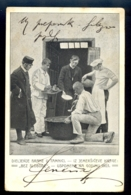 Dijeljenje Hrane U Tamnici (sharing Of Food In Prison Dungeon) Iz Jemersiceve Knjige / Postcard Circulated - Gefängnis & Insassen