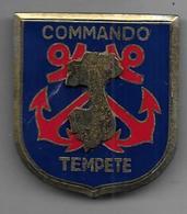 Commando Tempete - Insigne  Drago Paris  R 74 - Armée De Terre