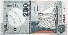 Cap-Vert - 200 Escudos - 2005 - PICK 68a - NEUF - Cabo Verde