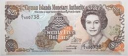 Cayman - 25 Dollars - 2003 - PICK 31a - NEUF - Iles Cayman