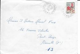 DROME 26   -  ST SAUVEUR GOUVERNET - AGENCE POSTALE    F8 -  1966  -  BELLE FRAPPE - Poststempel (Briefe)