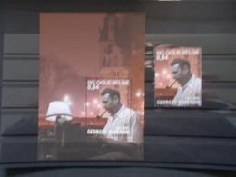BELGIQUE - BLOCS FEUILLETS N° 103  SIMENON  ( Maigret )+ Le Timbre Du Blocs  N° 3169 Année 2003 Neuf XX Voir Photo - Blokken 1962-....