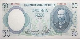 Chili - 50 Pesos - 1981 - PICK 151b - NEUF - Chile