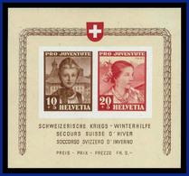 1941 - Suiza - Scott Nº HB B 116 - MNH - Socorro De Invierno - SU- 080 - 04 - Switzerland