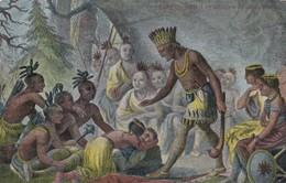 Pocahontas Saving Life Of John Smith , 1907 ; Version-2 - Indiens De L'Amerique Du Nord