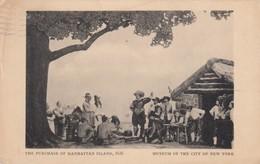 Purchase Of Manhattan Island , 1937 - Indiens De L'Amerique Du Nord