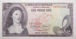 Colombie - 2 Pesos Oro - 1973 - PICK 413a.3 - NEUF - Kolumbien