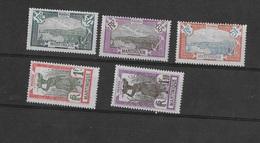 Martinique N° 121 à 126** Sans Le 124 - Neufs