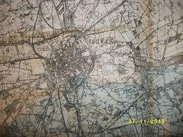 Topografische / Stafkaart Van Brugge (Middelburg - Maldegem - Eeklo - Beernem - Sijsele) - Cartes Topographiques