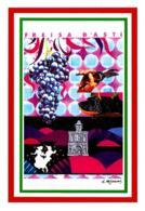 [DC1538] CPM - I COLORI DEL VINO - 150° ANNI UNITA' D'ITALIA - ILL. FERRARIS  - CARTOLINEA 1538 - Non Viaggiata - Vigne