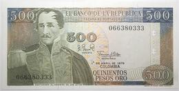 Colombie - 500 Pesos Oro - 1979 - PICK 420b - NEUF - Colombia