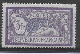 1925 - YVERT N° 206 * MLH CHARNIERE LEGERE - COTE = 30 EUR. - - France