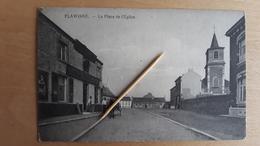 FLAWINNE - Delhaize ( Pas D'éditeur ), écrite 1915, Attelage, église - Rare - Namur