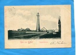 NEDERLAND-   Hoek Van Holland-hoogelitoren -le Phare- A Voyagé En 1900 - Hoek Van Holland