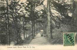 New York City - Lovers Lane, Bronx Park In 1908 - Autres Monuments, édifices
