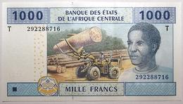 Congo - 1000 Francs - 2002 - PICK 107Ta.1 - NEUF - États D'Afrique Centrale