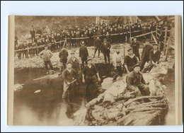 Y14460/ Deutsche Marine-Soldaten Beim Walfang  Foto AK Ca.1915  - Guerre 1914-18