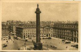 CPA - PARIS - PLACE ET COLONNE VENDOME - Plazas