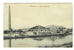 03 ALLIER MOLINET L'usine Céramique - France