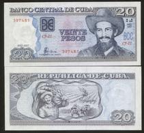 Cuba 20 Pesos 2007 Pick 122 UNC - Cuba