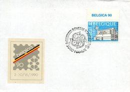 BELGIQUE. N°2367 De 1990 Sur Enveloppe 1er Jour. Poste/Belgica'90. - Europa-CEPT