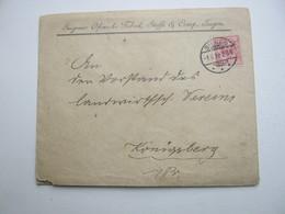 1892 , SIEGEN ,  Stempel Auf  Firmenbrief - Brieven En Documenten
