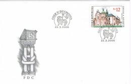 34795. Carta F.D.C. OSEK U DUCHCOVA (Republica Checa) 2006- Klaster V Oseku - FDC