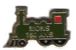P'TITS TRAINS - P252 - MONS - 150 ANS - Verso : BENNY - TGV