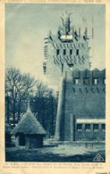 CPA - PARIS - EXPO COLONIALE 1931 - A.O.F. - CAMP DES GARDES ET LE PALAIS - Exposiciones