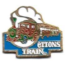 P'TITS TRAINS - P254 - SETTONS TRAIN - Verso : SM - TGV