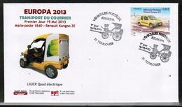 CEPT 2013 FR MI 5580 FRANCE POST CARD - Europa-CEPT