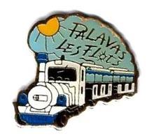 P'TITS TRAINS - P255 - PALAVAS LES FLOTS - Verso : T.C.P. - TGV